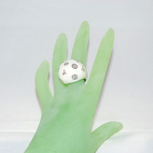 3/4 view on hand model