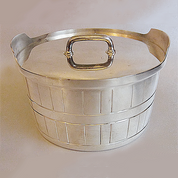 Gotham Silver Original Butter Tub