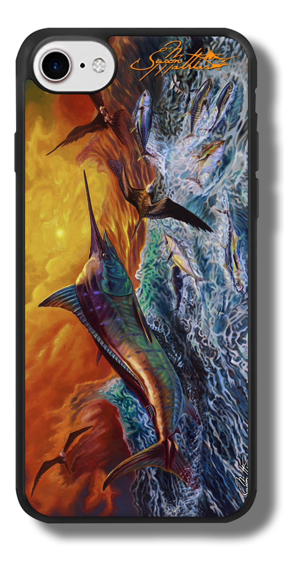 iphone-7-case-gamefish-sportfishing-art-jason-mathias-blue-marlin.png