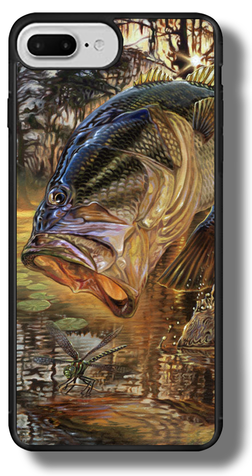 iphone-7-pluse-case-largemouth-bass-marine-fish-art-freshwater-jason-mathias.png