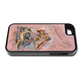 """""""iPhone 5 & 5s fine art phone case"""" by artist Jason Mathias: Girls, carry around this unique piece of personalized art of a pink Hogfish and Spiny Lobster on a coarl reef while protecting your phone all at the same time!"""