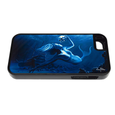 """iPhone 5 & 5s fine art phone case"" by artist Jason Mathias: Carry around this unique piece of personalized art of a beauitful mermaid while protecting your phone all at the same time!"