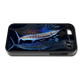 """iPhone 5 & 5s fine art phone case"" by artist Jason Mathias: Carry around this unique piece of personalized art of two Sailfish lit up balling bait while protecting your phone all at the same time!"