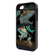 """iPhone 5 & 5s fine art phone case"" by artist Jason Mathias: Carry around this unique piece of personalized art of three sandbar sharks gliding over a sandbar while protecting your phone all at the same time!"