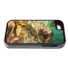 """iPhone 5 & 5s"" fine art phone case"" by artist Jason Mathias: Carry around this unique piece of personalized art of a school of Snook while protecting your phone all at the same time!"
