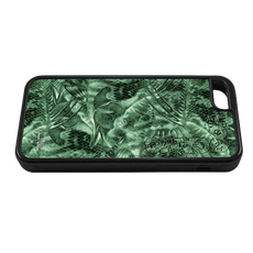"""iPhone 5c fine art phone case"" by artist Jason Mathias: Carry around this unique piece of personalized art of brilliantly designed camo pattern using Jason's Hogfish painting while protecting your phone all at the same time!"
