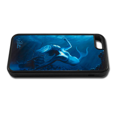 """""""iPhone 5c fine art phone case"""" by artist Jason Mathias: Carry around this unique piece of personalized art of a beauitful mermaid while protecting your phone all at the same time!"""