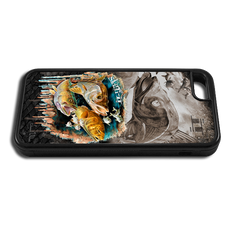 """iPhone 5c fine art phone case"" by artist Jason Mathias: Carry around this unique piece of personalized art of a Inshore Slam with the Snook, Trout and Redfish while protecting your phone all at the same time!"