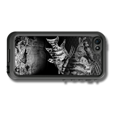 """iPhone 5, 5s & 5c fine art LifeProof Skin"" by artist Jason Mathias: Carry around this unique piece of personalized art of a Hogfish and Lobster while protecting your phone all at the same time!"