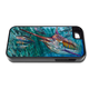 """iPhone 5 & 5s fine art phone case"" by artist Jason Mathias: Carry around this unique piece of personalized art of a Blue Marlin balling up a giant school of Yellowfin Tuna while protecting your phone all at the same time!"