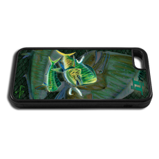"""iPhone 6 fine art phone case"" by artist Jason Mathias: Carry around this unique piece of personalized art of a Mahi, Dorado, or Dolphin while protecting your phone all at the same time!"