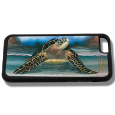"""iPhone 6 fine art phone case"" by artist Jason Mathias: Carry around this unique piece of personalized art of a beautiful Sea Turtle while protecting your phone all at the same time!"