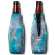 """Jason Mathias Fine Art Bottle Koozies & Coolie Cups: Featuring """"Ghost Flats"""" a reflective Bonefish salking the flats!  Sport your very own Jason Mathias Bonefish Coolie Cup when fishing, on a sunset cruises, at a barbeque or just hanging out at the sandbar. These awesome bottle suits are sure to keep your beverage ice cold in style!"""