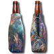 "Jason Mathias Fine Art Bottle Koozies & Coolie Cups: Featuring ""The Drift"" a spiny Lobster and Hogfish on a shallow reef.  Sport your very own Jason Mathias Lobster Coolie Cup when Lobstering, Spearfishing, fishing, on a sunset cruises, at a barbeque or just hanging out at the sandbar. These awesome bottle suits are sure to keep your beverage ice cold in style!"