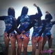 "Jason Mathias Art and Bliss Splash team up to bring you this popular line of woman's RashGuards! Artwork created and designed by Jason Mathias featuring a colorful and whimsical Yellowfin Tuna pattern from his painting ""Sushi Roll"". This fine art design is sublimated using superior technology that definitely makes for a top favorite among woman anglers, surfers and divers worldwide!  Protect your skin from the sun in our Newly Designed RashGuard Semi-fitted cut provides comfortable wear with its four-way stretch fabric technology. UPF 50+ fabrication protects your skin during outdoor activity by blocking harmful Ultraviolet A and Ultraviolet B rays (UVA and UVB). Mesh arms are UPF 30+ Stand collar extends coverage. Front zip opening allows increased and adjustable ventilation. Brand mark on the back top center 82% nylon, 18% spandex. Machine wash cold, hang or lay flat to dry Imported."