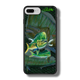 """iPhone 7 Plus fine art phone case"" by artist Jason Mathias: Carry around this unique piece of personalized art of a lit up Mahi, Dorado or Dolphin chasing a school of Ballyhoo while protecting your phone all at the same time!  Our phone cases provide superior quality when compared with other slim silicone rubber cases. Our case provides a layer of silicone protection- and an extended lip to protect your phone screen from touching or rubbing on surfaces. Our cases also have a comfortable textured grip and easy access to all buttons and plugins. The art plate is extremely tough, a well shielded sublimated aluminum fine art plate that wont fade or scratch.  Case provides effective protection from dust, damage or any other unexpected situations.  (Made in the USA)"