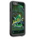 """iPhone 7 fine art LifeProof Skin"" by artist Jason Mathias: This case fits the iphone 7. Carry around this unique piece of personalized art of a lit up Mahi, Dolphin or Dorado schooling up some Ballyhoo while protecting your phone all at the same time!  Our LifeProof Skins provide superior quality with a well shielded waterproof aluminum fine art plate, a special waterproof adhesive that custom fits your Lifeproof case that wont fade.  :LifeProof Cases is not included. The skin inst a sticker, its a sublimated aluminum plate.  (Made in the USA)  Instructions -   1. Use supplied alcohol pad to fully clean the back of the LifeProof case.  2. Make sure the back of the LifeProof case is completely dry and free of dirt or grease.  3. Take the supplied Jason Mathias LP skin and make sure it lines up with the camera on the back of the LifeProof case.  4. Remove the wax paper from the back of the Jason Mathias skin.  5. Align the notch in the JM skin with the LP camera, while keeping the plate tilted in an upwards position until the corners meet.  6. Once aligned slowly start lowering the skin onto the back of the case. Once the skin is rested on the case and aligned start pressing the skin firmly onto the case back.  7. The skin needs 24-48 hours to cure, you can use the case but dont flex or use underwater until the curing period is over."