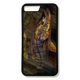 iPhone 8 plus fine art phone case by artist Jason Mathias: Carry around this unique piece of personalized art of a brilliant Snook ambushing finger Mullet in the mangroves while protecting your phone all at the same time!