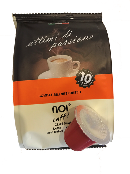 Noi Espresso Coffee Capsules (10 shots) - Free Shipping