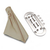 OVAL TRIM RING AND BOOT FOR EMERGENCY BRAKE ASSY. -TAN