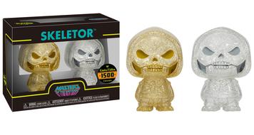 Hikari XS: MOTU - Skeletor 2 Pack (Gold/Silver)