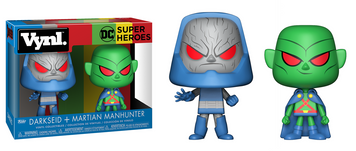 Vynl. DC -  Martian Manhunter & Darkseid