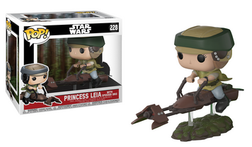 POP! Star Wars: Leia on Speeder Bike
