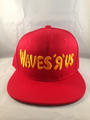 Waves R Us Red Snap Back Hat