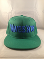 Waves R Us Green Snap Back Hat