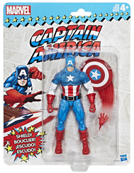 Marvel Legends Super Heroes Vintage 6-Inch Figures Wave 1: Captain America