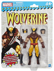 Marvel Legends Super Heroes Vintage 6-Inch Figures Wave 1: Wolverine