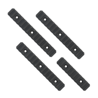"This TACMOD MIL-STD-1913 modular rail kit includes three 6"" medium rails, and one 3"" short rail."