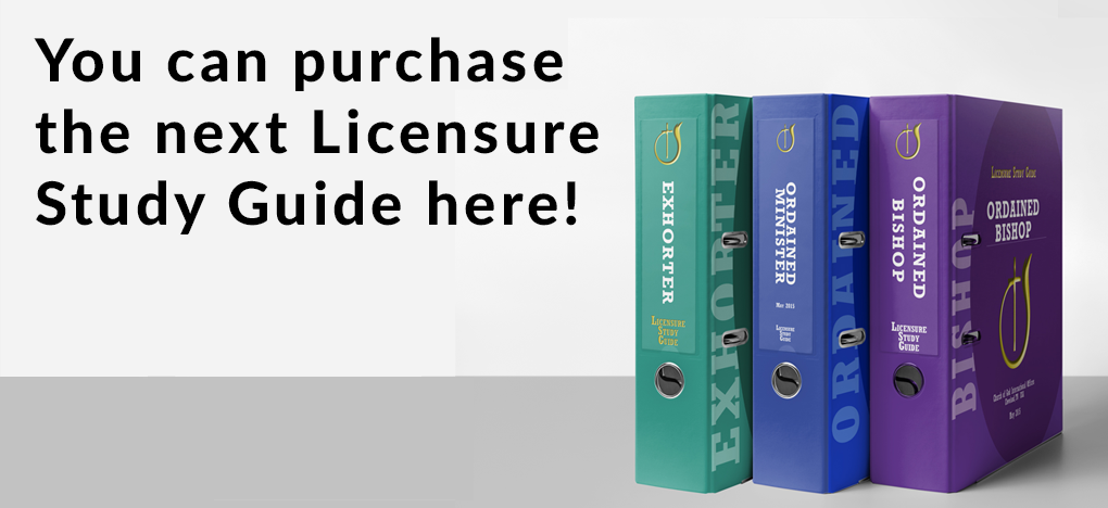 Licensure Study Guide