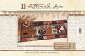 October in Wool table mat pattern Buttermilk Basin 1252