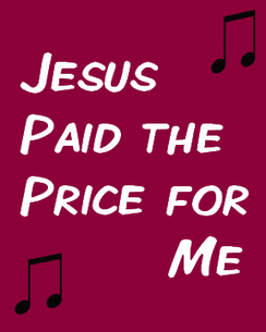 Jesus Paid the Price for Me
