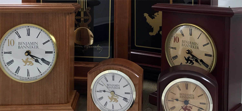 Benjamin Banneker Clock Line Officially Launches