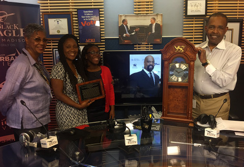 Ballou High School Banneker / Joe Madison Clock Presentation