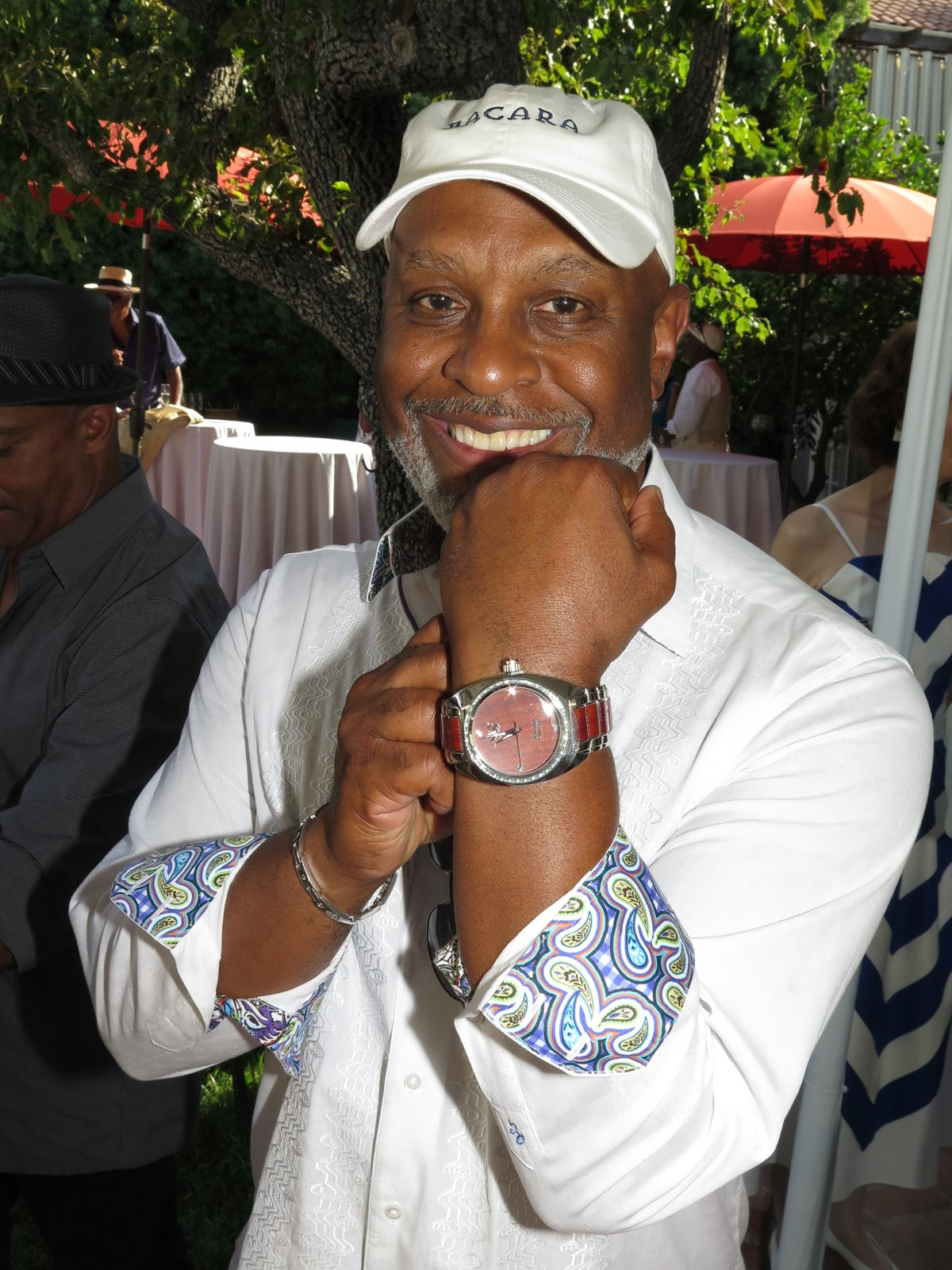 Actor james pickens jr wearing power by benjamin banneker watch benjamin banneker watches for Actor watches