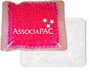 "4.5"" x 4.5"" ""Cloth-Backed"" Gel Bead Cold/Hot Therapy Packs.  100 per case."