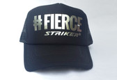#FIERCE Black  Trapper Trucker Hat (UNISEX )