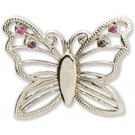 Silver Butterfly  Key Finder - FREE SHIPPING
