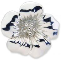 Silver Floral Key Finder