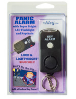 Personal Safety Product : Panic Alarm with Torch and KeyRing - FREE SHIPPING