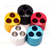 VapeOnly Three-port Cylinder E-Cigarette Stand Base/ Holder