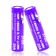 Efest IMR purple 18650 20A 3100mah