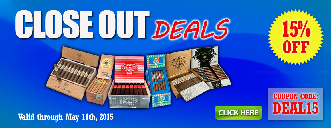 Closeout Deals on Cigars