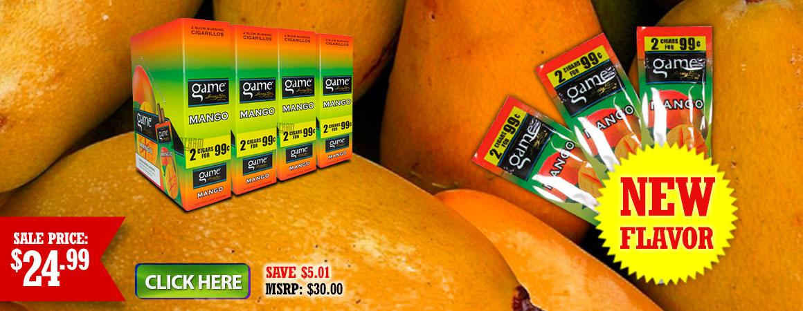 Game Mango Cigarillos