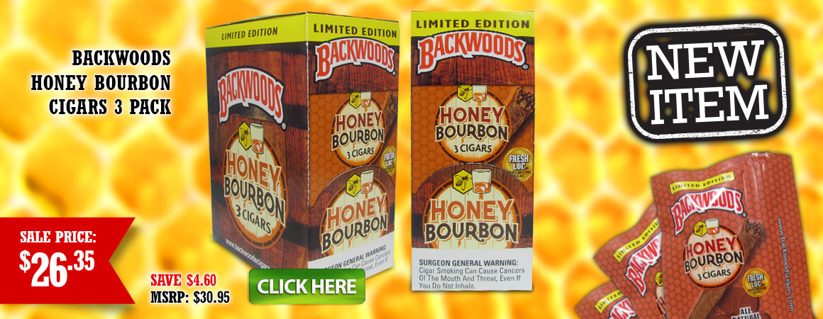 Backwoods Honey Bourbon Cigarillos