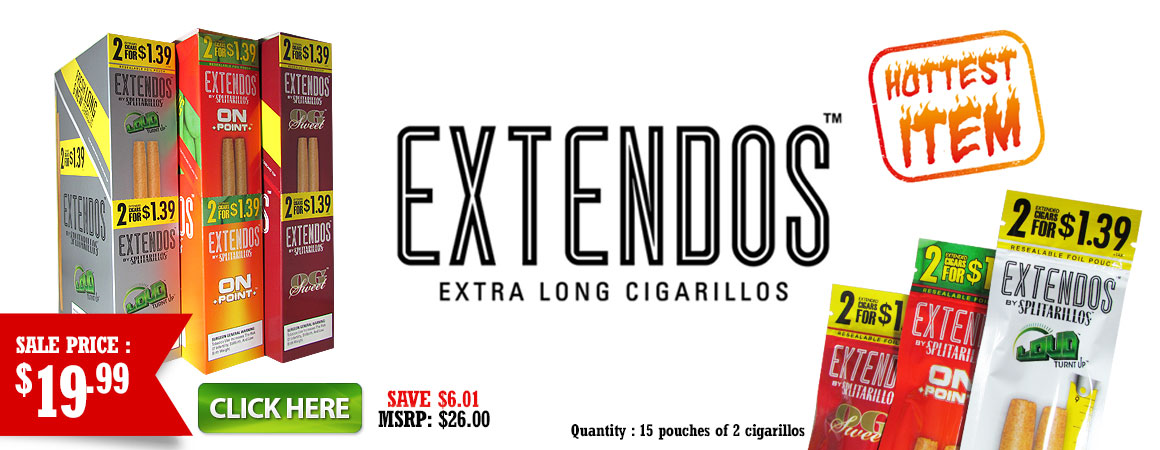 Extendos by Splitarillos now in stock!