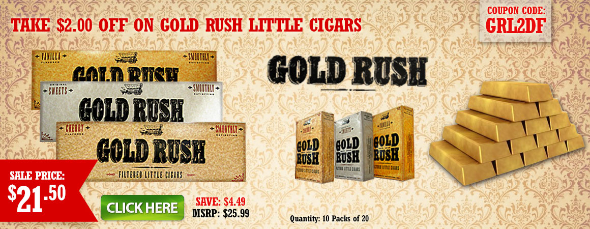 Gold Rush Little Cigars